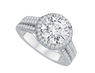 Engagement rings largest selection in the midwest kesslers diamonds engagement rings with a center diamond junglespirit Image collections