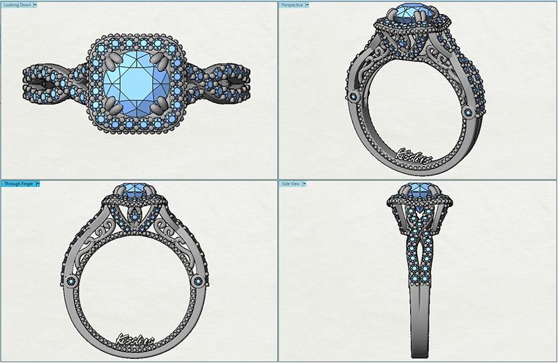 Kesslers Diamonds: Custom Jewelry - Unique Jewelry Design