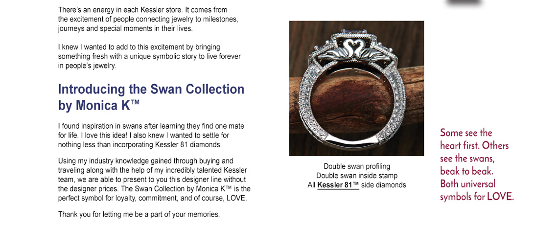 Kesslers Diamonds Swan Collection